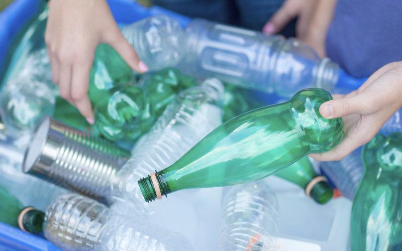 A reciclagem de lixo no Brasil