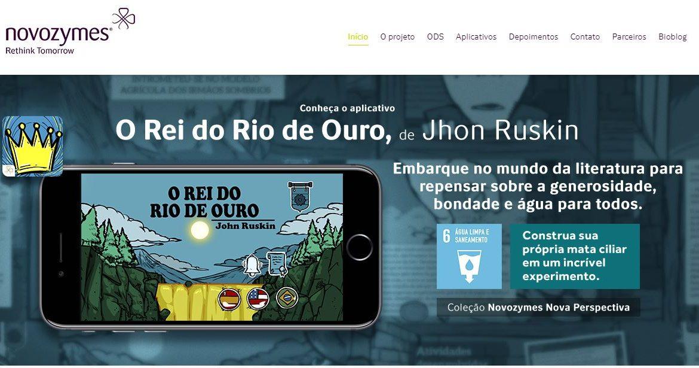 Novozymes lança página do projeto EDUCAÇÃO no Brasil