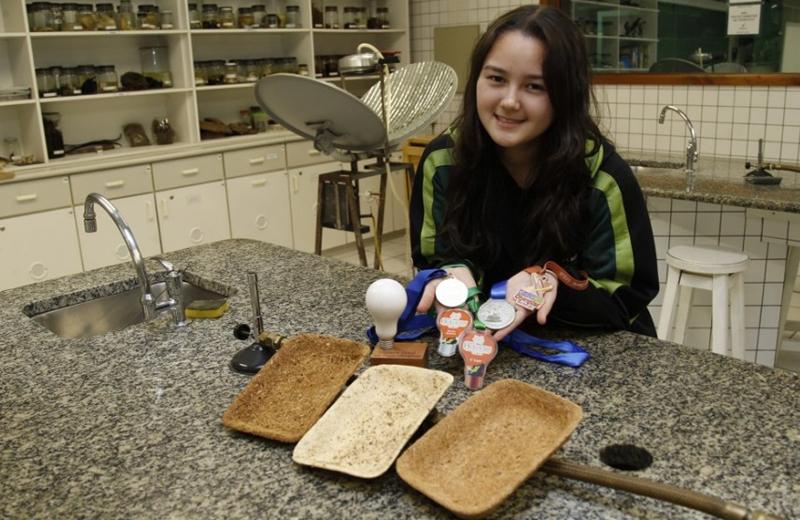 biodegradável - aluna