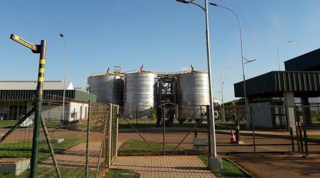 Usina de etanol de milho
