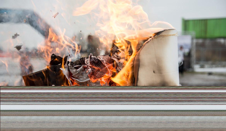 ONU faz alerta sobre a queima de lixo plástico
