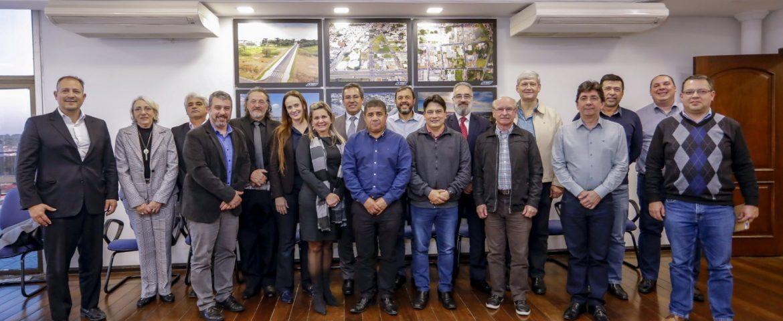 Primeira reunião do Conselho Avançaraucária
