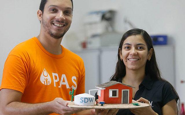 Brasileira conquista prêmio da ONU por ajudar a purificar água